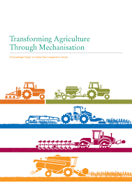 transforming agriculture through mechanisation