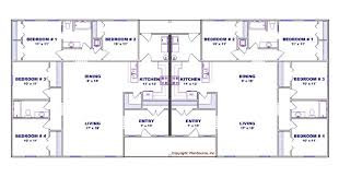 4 Bedroom Duplex Floor Plans Beautiful Ideas 15 House Plans In Drawing Make Your Own Blueprint