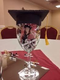 graduation cap centerpieces copas decoradas para graduación centerpieces graduation ideas