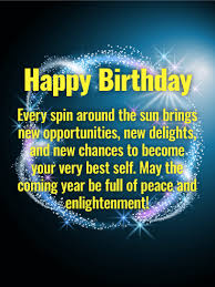 have a peaceful year happy birthday wishes card choose this