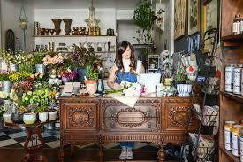 Floral Design Business From Home Shop Tour The Farmer U0027s Daughter Flower Shop U2013 Design Sponge
