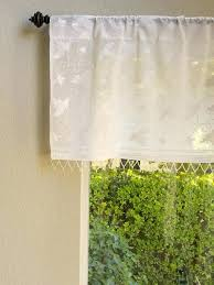 Saffron Curtains White Cotton Valance Curtains White On White Valance