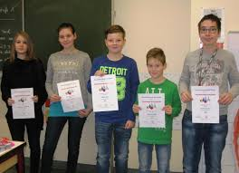 Bad Berga Auswertung Des Mathematischen Wettbewerbs An Der Klosterbergschule