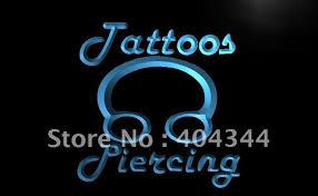 led lights for body shop lb484 tattoos piercing ring body shop led neon light sign home decor