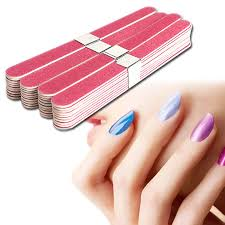 40pcs lot nail art manicure buffer sanding files wood crescent