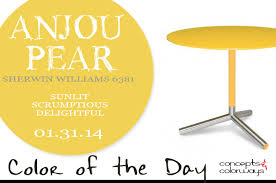 color of the day anjou pear concepts and colorways