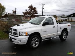 2005 dodge ram 1500 single cab 2005 dodge ram 1500 slt regular cab 4x4 in bright white 564072
