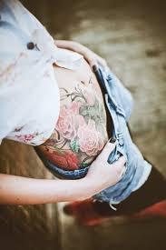 beautiful roses hip tattoo tattoomagz