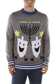 channukah sweater the hanukkah christmas sweater tipsy elves