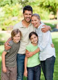 happy family in the park madeira chiropractic wellness center inc