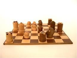 modern staunton chess set by arthur elliott for arni in hardwood