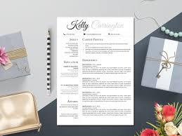 Elegant Resume Template Microsoft Word