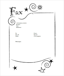 Fax Sheet Templates Blank Fax Cover Sheets Fax Cover Sheet Pdf Sle Fax