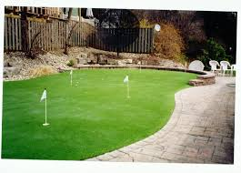 Small Backyard Putting Green Backyard Golf Ideas Home Outdoor Decoration