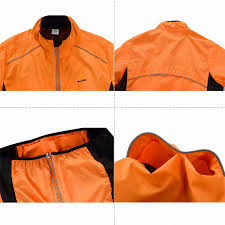 windproof cycling jackets mens wosawe tour de france cycling coat long sleeve jersey professional
