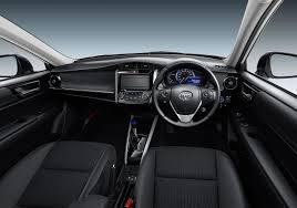 toyota corolla 2017 interior 2018 toyota corolla fielder interior indian autos blog