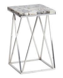 tj maxx side tables agate side table coastal t j maxx