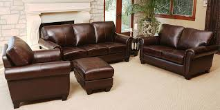 leather livingroom sets ideas leather sofa sets for living room well suited 17