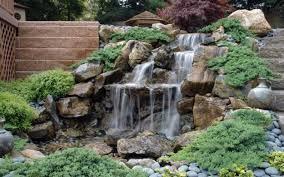 Rock Garden Waterfall 21 Waterfall Ideas To Add Tranquility To Rock Garden Design
