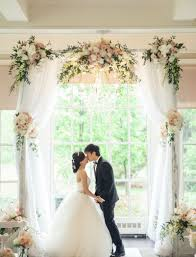 wedding arches on a budget best tulle wedding arch to says vows weddceremony