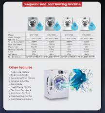 efw 5850s front load washer 8 5kg 5 years motor warranty