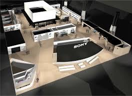 nab floor plan stolen truck won t slow sony s nab plans