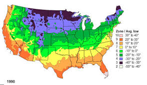 global zone map usda incorporates global warming in plant hardiness zone map