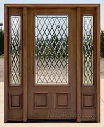 Exterior Door With Side Lights Clearance Exterior Doors With Sidelights