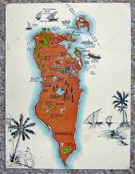 Map Of Bahrain Map World Dealer In Fine And Rare Antique Maps