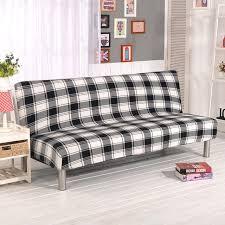 couverture canapé stretch housse de canapé élastique canapé couverture sans bras