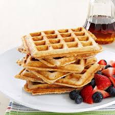 soul satisfying oatmeal waffles recipe taste of home