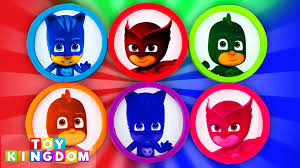 pj masks play doh egg toy surprises disney jr teen titans mlp