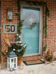 Outdoor Christmas Decorations B M by 2013 Christmas Home Tour Hymns And Verses