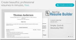 Simple Online Resume by Stupefying Best Resume Building Sites 1 11 Best Free Online Resume