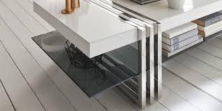 Couchtisch Weiss Design Ideen Couchtisch Chrom Glas Weiß Amped For