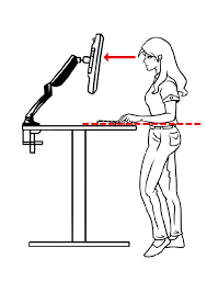 Ideal Height For Standing Desk Get Your Ergo Elements Standing Desk Dialed In To The Perfect