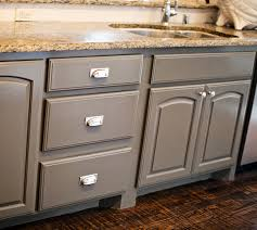the center island and center island cabinets are
