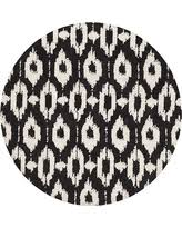Black Round Rug Slash Prices On Hexagon Rug Charcoal Grey 4 U0027x4 U0027 Round