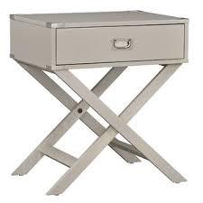 modern grey nightstands allmodern