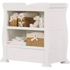 Sleigh Changing Table Sleigh Dresser In White Finish Bedroom Pinterest