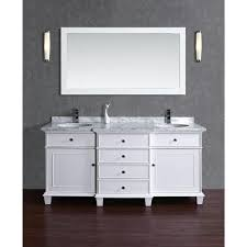stufurhome cadence white 72 inch double sink bathroom vanity with