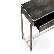 Shagreen Console Table by Jonathan Charles Shagreen Console Table