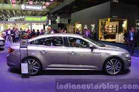 renault sedan 2016 2016 renault talisman side at the iaa 2015 indian autos blog
