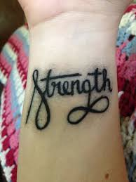 22 nice wrists strength tattoos