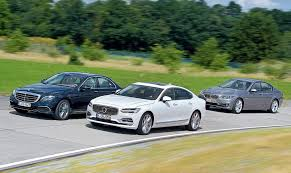 5 series mercedes 2017 mercedes e class beats the volvo s90 and bmw 5 series