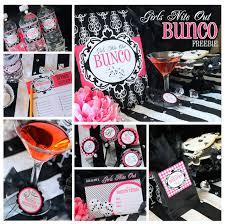 bunco party bunco party 7 free printables tip junkie