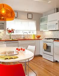 kitchen designs fancy mid century kitchen design with circular