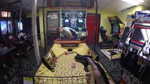 cool gunman arcade game buzzer beater wildwood nj youtube
