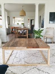 Plans For Building A Wooden Coffee Table by Best 25 Wood Coffee Tables Ideas On Pinterest Coffee Tables
