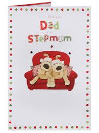 dad u0026 stepmum christmas card christmas single cards christmas